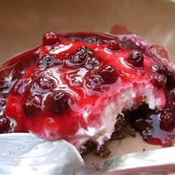 Photo of No-Bake Huckleberry Cheesecake by Shannon Marchbanks