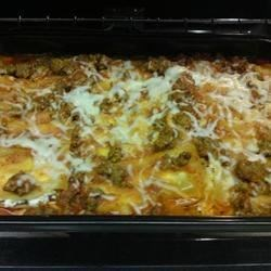 Easy Lasagna I (slightly tweaked)