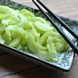 Cucumber Sunomono