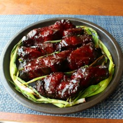 Chinese main dish recipes allrecipes chinese barbeque pork char siu recipe and video with its impressive high forumfinder Choice Image