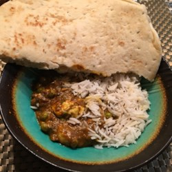 Basic Indian Curry with Paneer
