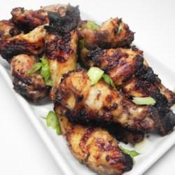 caesar grilled chicken wings printer friendly