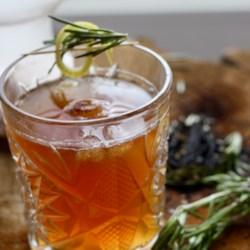 Rosemary Smoked Coffee Lemonade