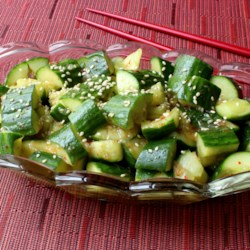 Asian Cucumber Salad Dressing