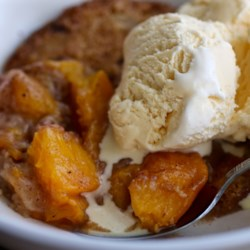 Best Peach Cobbler Ever