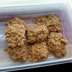 No-Bake Peanut Butter Cookies III