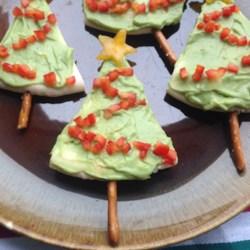 Christmas Finger Foods.Pita Christmas Tree Finger Food Recipe Allrecipes Com