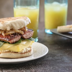 the best sausage breakfast sandwich printer friendly