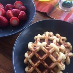 almond flour waffles printer friendly