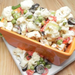 Chilled Cauliflower Salad