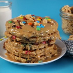 Monster Cookie Pancakes