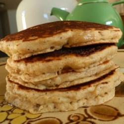Banana Poppy Seed Pancakes