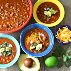 instant pot r quick and easy outlaw chili beans printer friendly