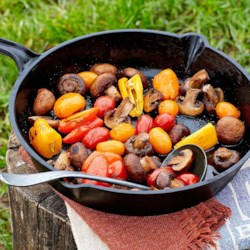 Healthy bbq grilling recipes eatingwell for Healthy dutch oven camping recipes