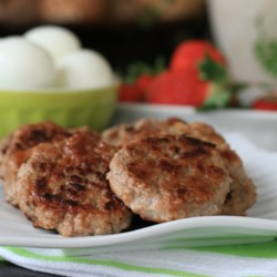 Maple Apple Turkey Sausage