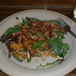 Image of Asian Spinach Salad, AllRecipes