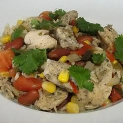 Cilantro Chicken and Rice Recipe