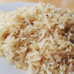 Savory Rice and Quinoa Pilaf