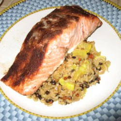 Cold Roasted Moroccan Spiced Salmon Recipe