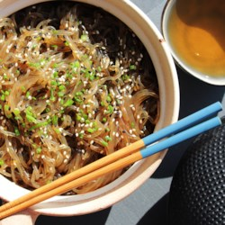 Yummy korean glass noodles jap chae recipe allrecipes forumfinder Choice Image