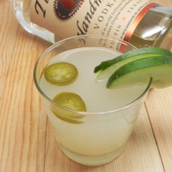 Jalapeno and Cucumber Cocktail