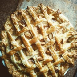 Healthier Apple Pie by Grandma Ople