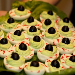 halloween eye of newt recipe bubble bubble toil and trouble this appetizer - Halloween Savory Recipes