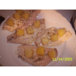 Hawaiian Fish with Pineapple