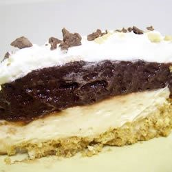 Chocolaty Peanutty Pie Recipe