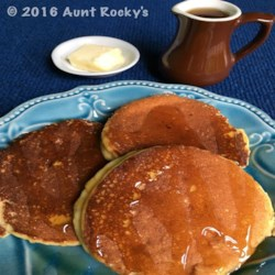 Aunt Rocky's Fluffy LCHF Pancakes (Low Carb, Grain Free, Gluten Free, Low Glycemic)