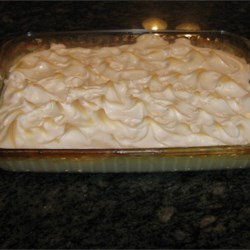 Grandma's Baked Rice Pudding with Meringue Recipe