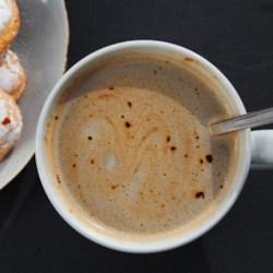 coconut milk hot chocolate printer friendly