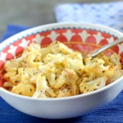 easy low carb cauliflower mac n cheese printer friendly