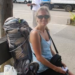 Backpacking in Fiji