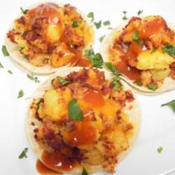 vegan potato soy chorizo tacos printer friendly