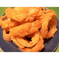Stack of Onion Rings Recipe