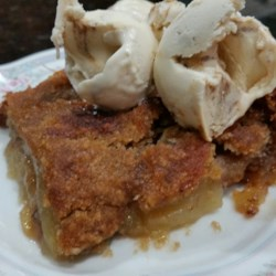 Apple Slices Brown Betty