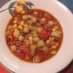 Grandma's Slow Cooker Vegetarian Chili Recipe
