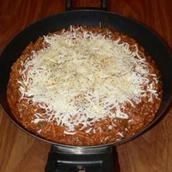Spaghetti Skillet Dinner Recipe