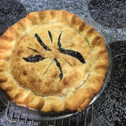 concord grape pie i printer friendly
