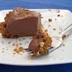 Chocolate-Almond Tofu Pie