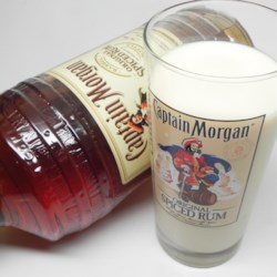 Eggnog (Spiked with Rum)