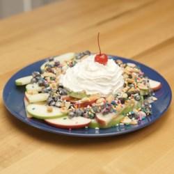 hersheys dessert nachos 3 ways apple variation printer