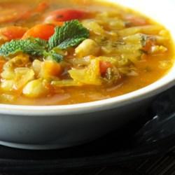 Vegetarian Moroccan Harira