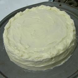 Cream Cheese Slathered Banana Cake