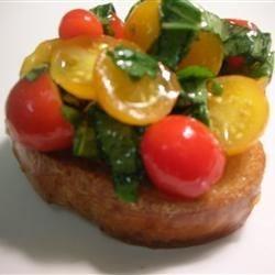 Photo of Heirloom Tomato Bruschetta by Johnna