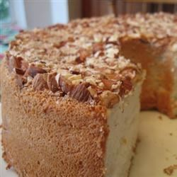 Image of Angel Food Cake With Toasted Almonds, AllRecipes