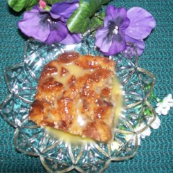 Maple Caramel Bread Pudding Recipe