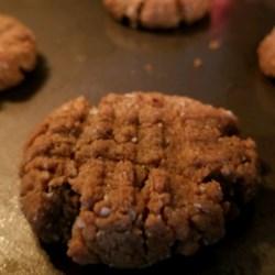 peanut butter bliss cookies vegan gluten free no sugar added