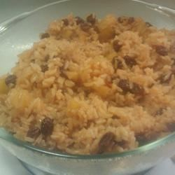 Cinnamon Rice with Apples